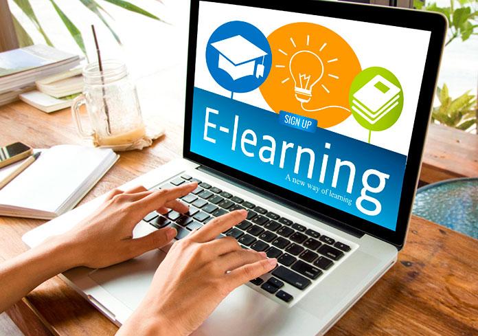 E-learning cung cấp môi trường học thú vị