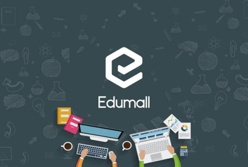 Website học trực tuyến Edumall
