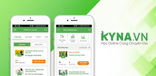 Website học trực tuyến Kyna