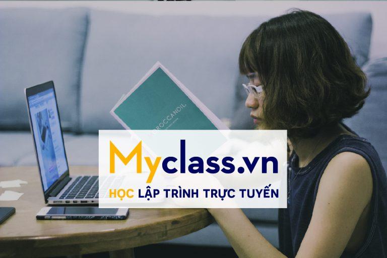 Học lập trình trực tuyến với Myclass