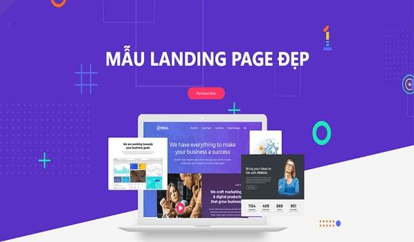 top 10 mẫu landing page
