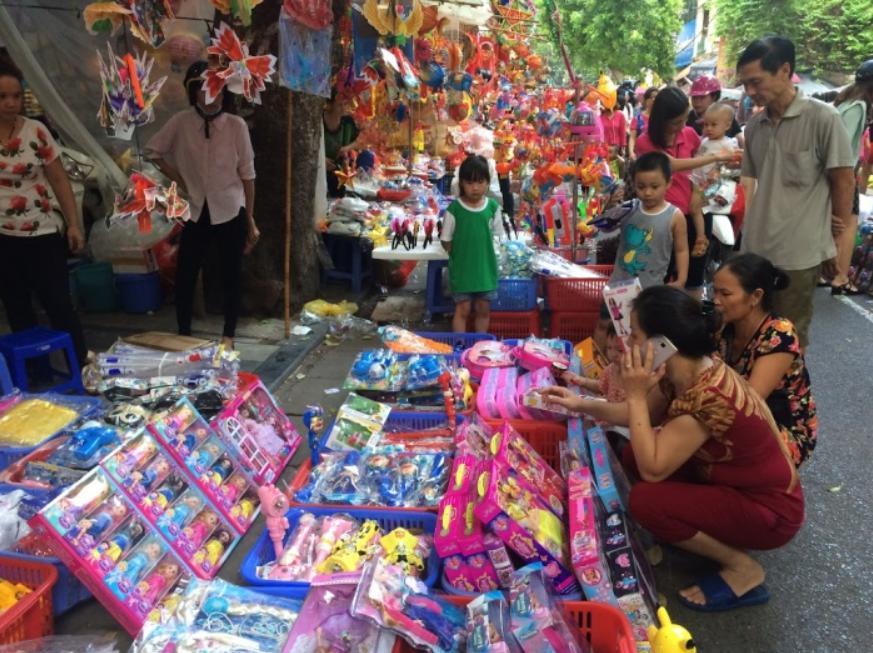 Nhập hàng lego ở chợ đầu mối Việt Nam