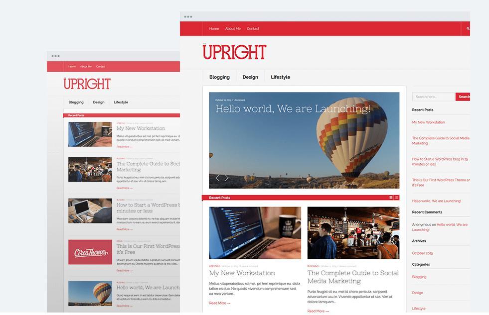 Theme Upright