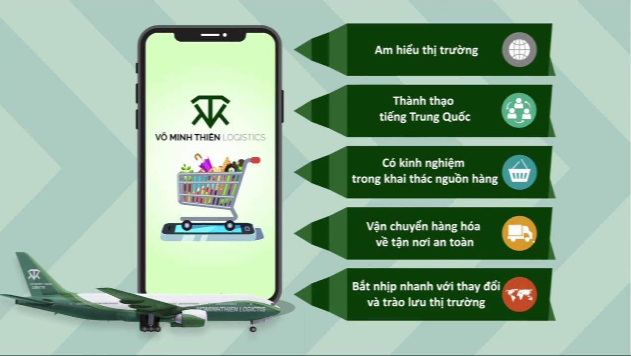 dịch vụ nhập hàng hộ Võ Minh Thiên
