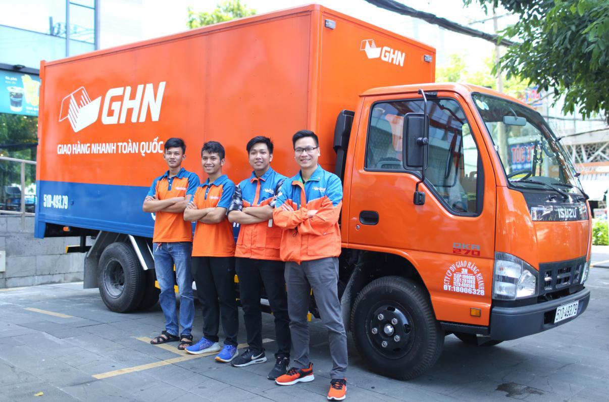 Dịch vụ giao hàng toàn quốc GHN
