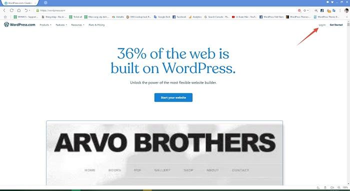 dịch vụ tạo website