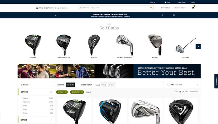 Cách lựa chọn website bán phụ kiện golf online uy tín