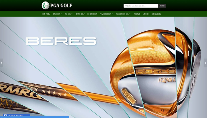 Thiết bị golf cao cấp - Pgagolf.vn