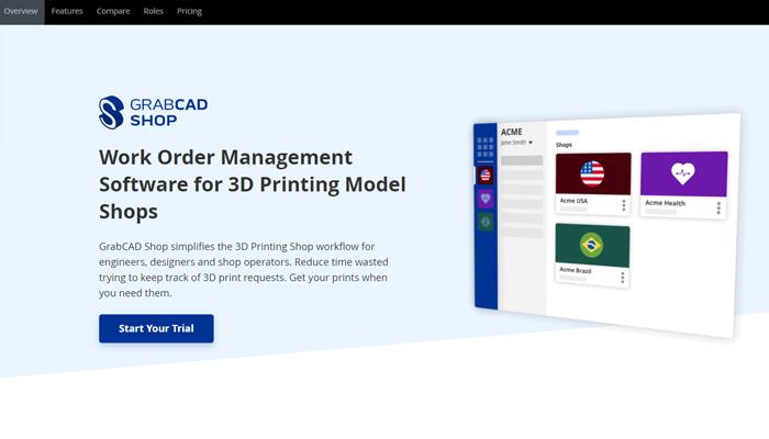 Trang web tải mẫu in 3D - GrabCAD